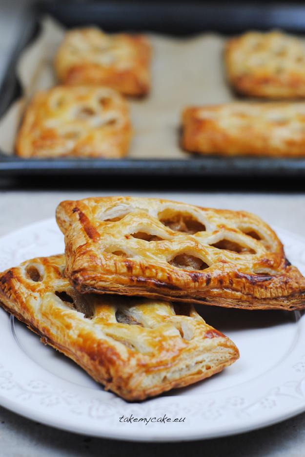 ciastka francuskie z jabłkami i gruszkami1