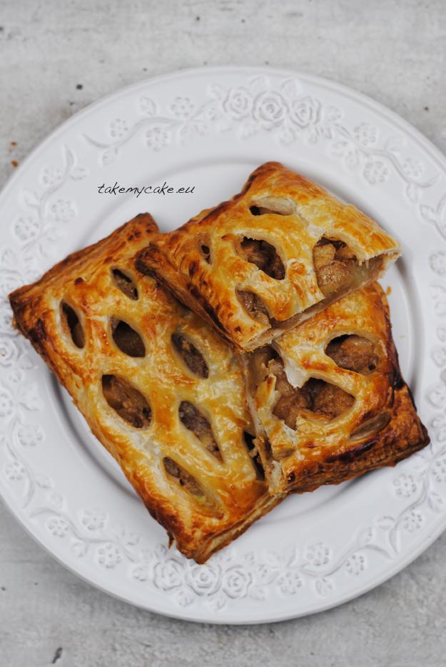 ciastka francuskie z jabłkami i gruszkami2