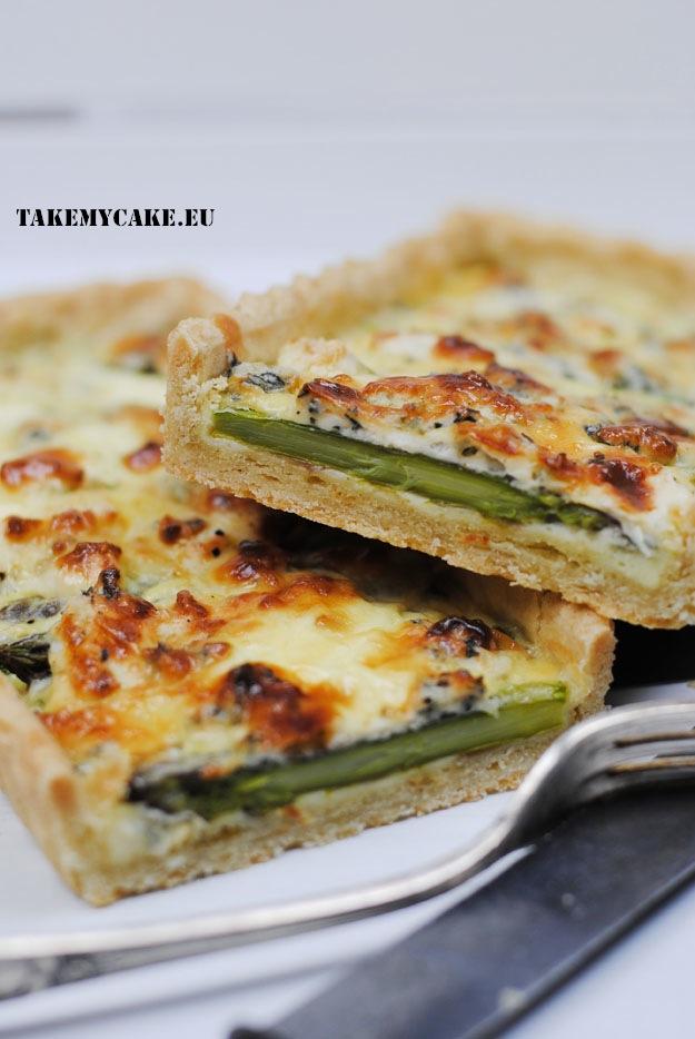 tarta ze szparagami i serem plesniowym3