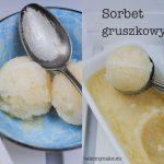 sorbet gruszkowy
