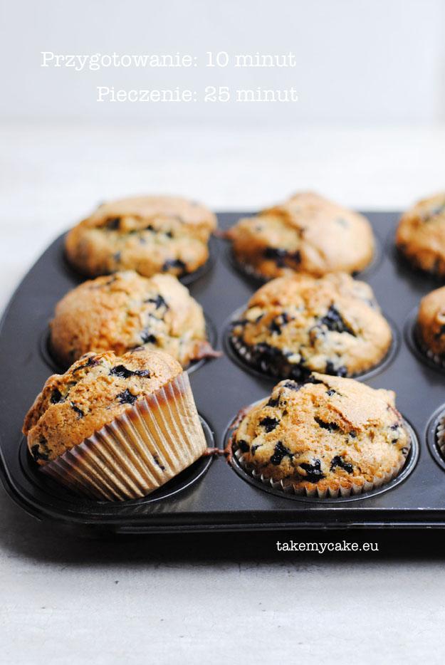 ekspresowe muffinki z jagodami1