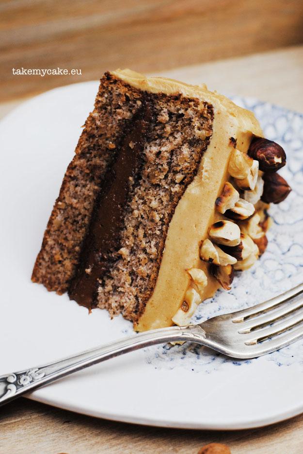 tort z maslem orzechowym i nutella3