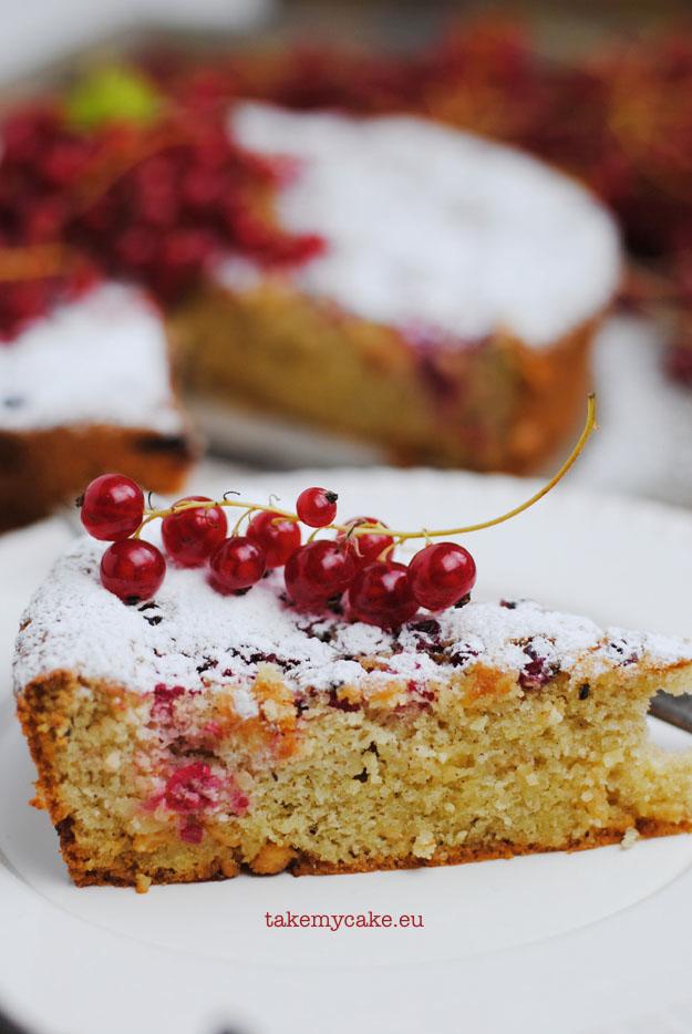 ciasto migdałowo porzeczkowe1