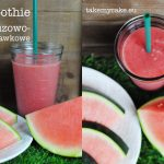 smoothie arbuzowo-truskawkowe