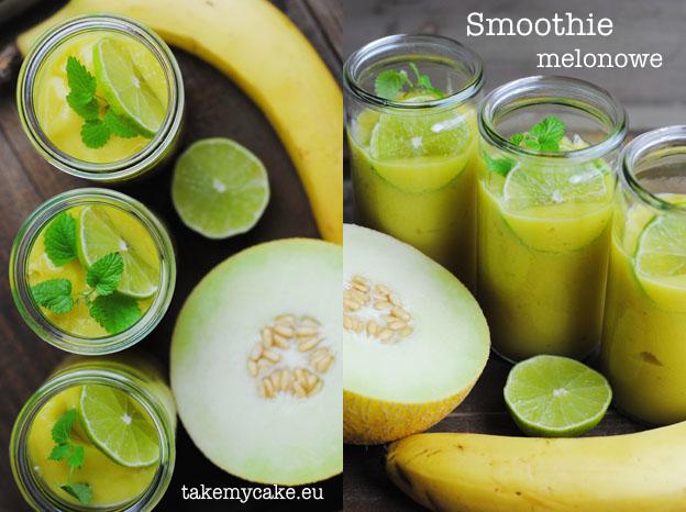 smoothie melonowo-gruszkowe