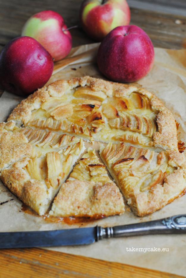 galette z jablkami