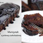 murzynek z polewa czekoladowa