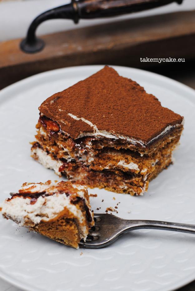 korzenne ciasto bez pieczenia
