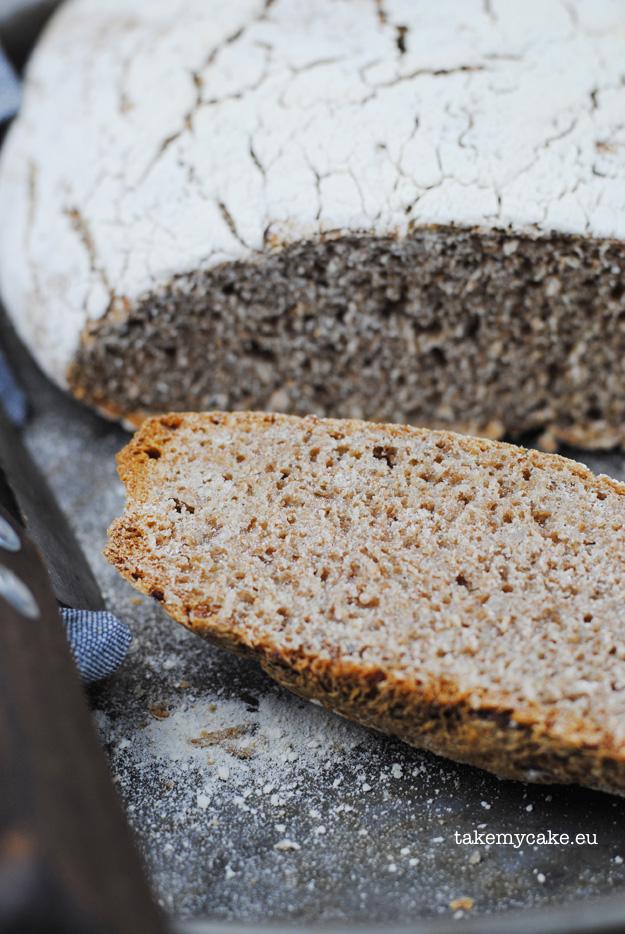 chleb z kasza gryczana